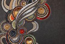 Textile mozaic