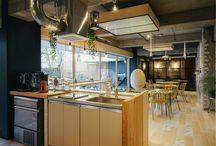 カフェ風のお部屋