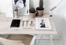 Interior, design / Nice and tidy rooms & inner spaces, cute furniture & accessories