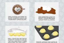 Cooking How To's & Tips
