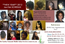 His Garden Naturals Mobile Salon Services / Bringing professional salon services in the private space of your own home whether you're a child, teen, adult, senior, elderly, with a disability or home-bound! for more info contact me AKA-Miss Cee (my salon name). His Garden Naturals Mobile Salon Services comes to you. You can receive a free consultation, make an appointment and/or order some of my new line of natural products for your hair and body.
