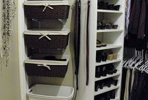 Closet organization / by Kirsten Nutter