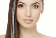 Hair Accessories & Flair / Give your #hair some dramatic POP of color or jewels for any special occasion!