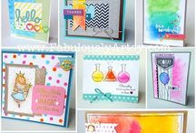 Watercolour inspiration / Fabulous designs created using watercolour paints and pencils