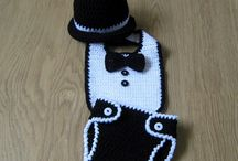 Crochet baby boy outfit/clothes
