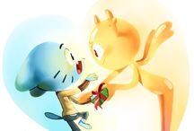 gumball y penny