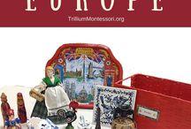 Europa para niños