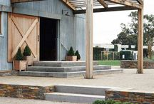 Barns and outdoor spaces