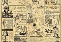 старые газеты, ноты