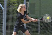 Lisa en tennis