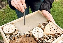 Bee Hotels - save the bees