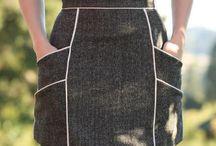 søm: skjørt og bukser