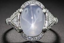 Sapphire, Gray / Gray Sapphire Rings & Jewelry