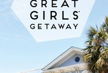 Places to Go - Women's Travel / Go girlfriends! Take a Girlfriend Trip together! Inspiration for travel for women - destinations for girlfriend getaways, fun things to do while traveling & more!