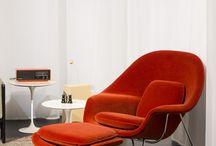 Eero Saarinen Womb Chair Einrichtungsideen
