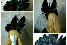 Raven and Rose Atelier / my headdress