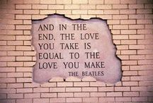 Beatles Sayings / by Trula Lewis-Hummerick