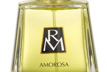 Amorosa (Ruth Mastenbroek) / Amorosa is the seductive scent of a woman in love with life.  The fragrance opens with top notes of watermelon and green leaves, revealing a sensual heart of white flowers, nestled in an exotic base of woods and ambers.