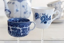 tea cups and china