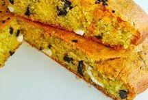 Mısır Unlu tuzlu kek
