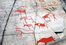 Rock art, cave painting