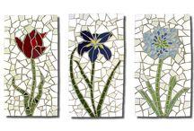 mozaik çiçek