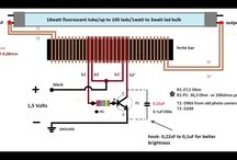 1,5 volt inverter to 220 volts schematic diagram(schema)