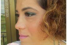 Maquillaje con ojos marcados y labial Snob / Maquillaje con ojos marcados y labial Snob