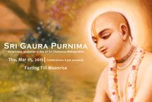 Sri Gaura Purnima / Appearance day of Sri Lord Chaitanya is celebrated as Gaura Purnima Festival. This festival also the marks the begining of new year for Gaudiya Vaishnavas.