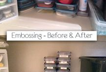 My Studio / I remodeled my studio and here are some of my tips for crafty organization!