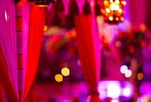 Asian Wedding Themes / Fantastic colours and decoration