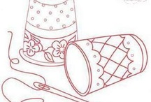 Embroidery patterns an inspiration  / From need to know to ideas