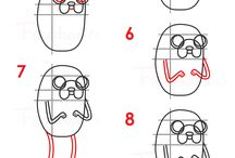 How To Draw Adventure Time Characters Step By Step