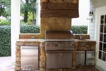 Outdoor kitchen / by Milinda Monday
