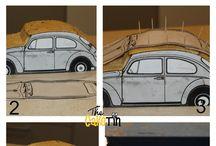 torty samochody i inne