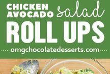 Chichen avokado  salad