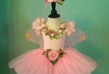 Wedding dress, ribbon embroidery