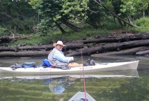 Kayak Fishing / Fishing just about anywhere in a highly portable kayak / by M.R. Enterprises