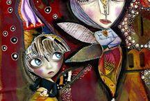 ARTist Luv~ Giusi Branca / by Kathie Gadd