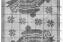 vianočné vysivanie