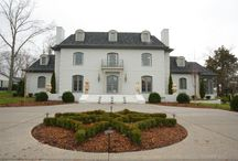 French Country Estate / Beautiful French Country estate with rewired antique fixtures and antique doors