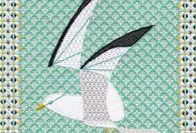 Kuş desenleri