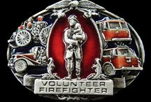 Firefighter buckles