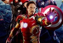 Marvel and their superheroes!!