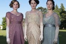 Vintage mode Downton Abbey