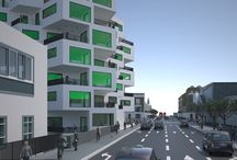 Camden Point, London / Type: Residential (44 Units) & shops at Ground Level Area: 80 500 Sqf Designed by hoffice