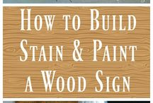 Make a wood sign
