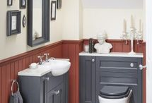 En Suite Bathroom Ideas / Design ideas for en suite or cloakroom bathrooms.