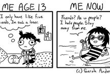 Sarah Andersen comics / She is just like me! :-D