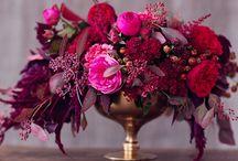 Wedding Inspiration~Ametyst, Blackcurrent, Burgandy, Pink